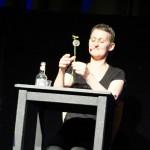 Auch in Nürnberg gab es eine spontane Starterin aus dem Publikum: Susanna