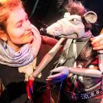 Ratte und Jana nach der Show